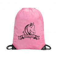 Gympapåse med namn - Häst