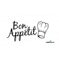 Väggtext - Bon Appétit
