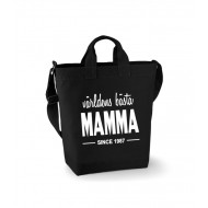Canvas Bag - världens bästa MAMMA