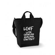 Canvas Bag - LCHF lite choklad hjälper faktiskt