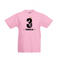 Kalas T-Shirt  med namn - Siffra