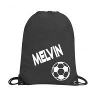 Gympapåse med namn - Fotboll