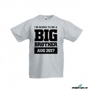 Barn t-shirt - I´M GOING TO BE A BIG BROTHER