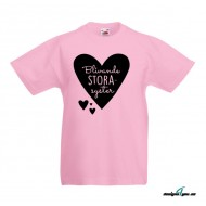 Barn T-Shirt - Blivande Storasyster